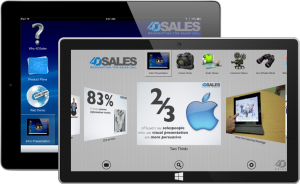 4DSales iOS and Windows 8